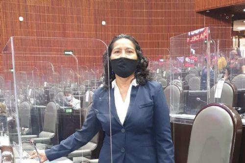 Diputada de Morena dice en el pleno que pagó soborno de 20 mil pesos