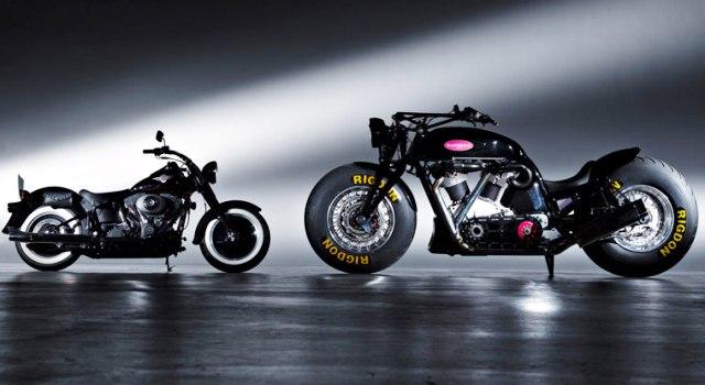 Checa la moto más grande del mundo