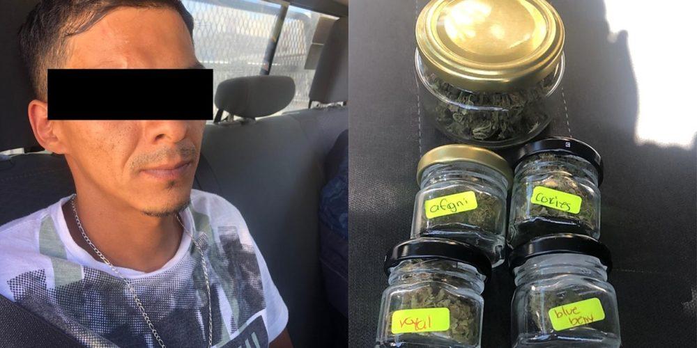 Narquillo creativo fue detenido por vender mota de sabores en VNSA