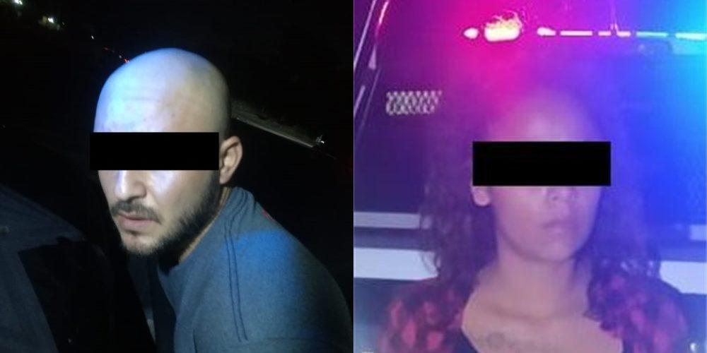 Capturan a pareja que transportaba 12 kilos de marihuana en Calvillo