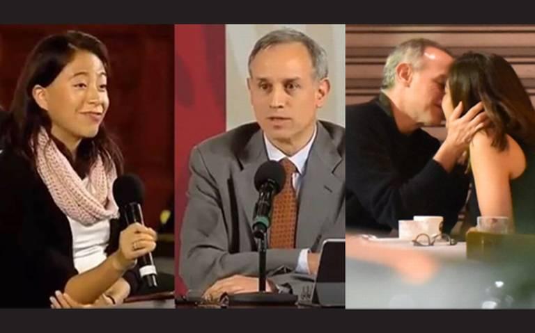 Sigue polémica por fotos de Hugo López-Gatell con su pareja