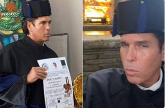 Roberto Palazuelos recibe doctorado Honoris Causa