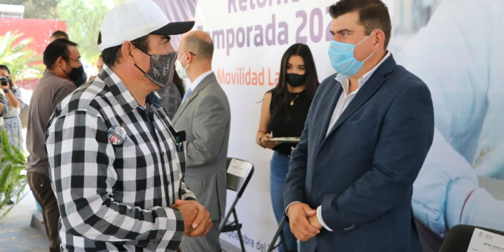 Brindarán apoyo para migrantes en Calvillo