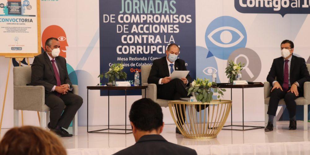 Ni un paso atrás en el combate a la corrupción: Hernández