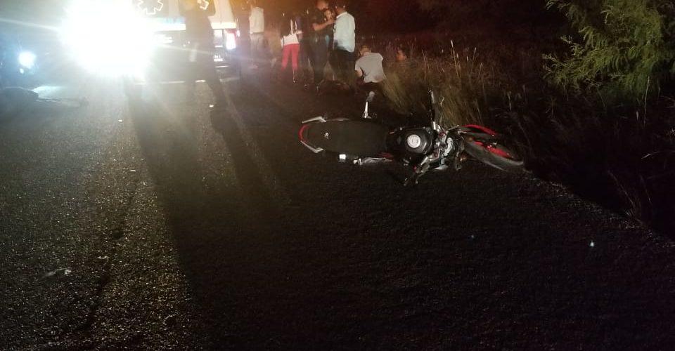 Identifican a fallecidos de choque entre motocicleta y bicicleta en Tepezalá