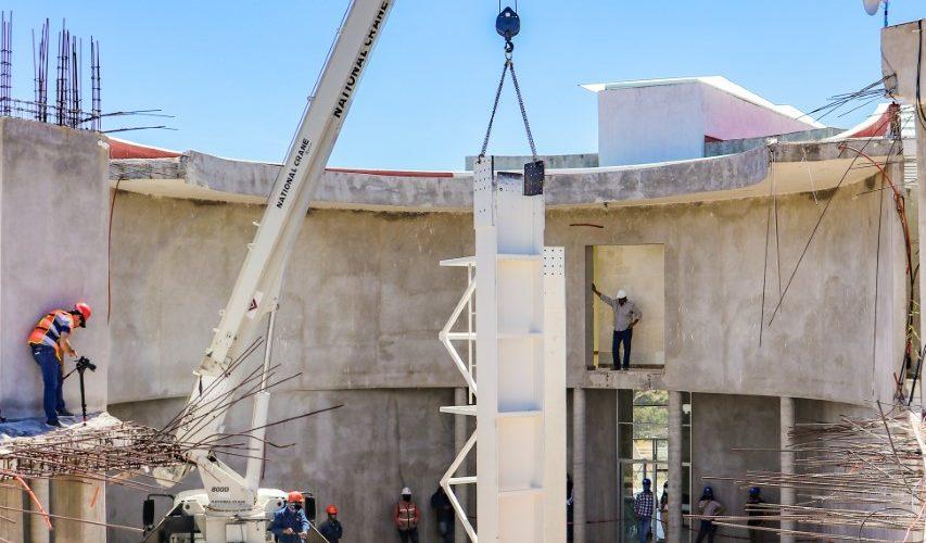 Inician construcción de la Santa Cruz en Calvillo