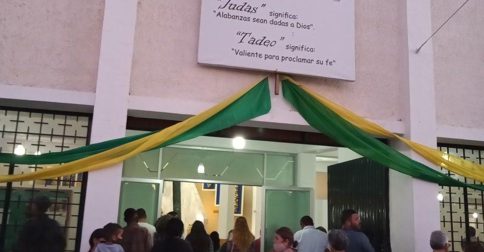 Asistencia a templo de San Judas en Aguascalientes no se detuvo por pandemia