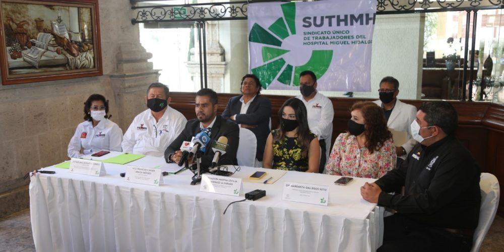 """""""Estamos abandonados por la Federación"""", acusan trabajadores del sector salud"""
