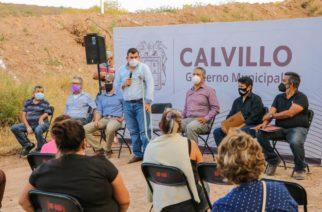 Reconocen ciudadanos las gestiones del ayuntamiento de Calvillo