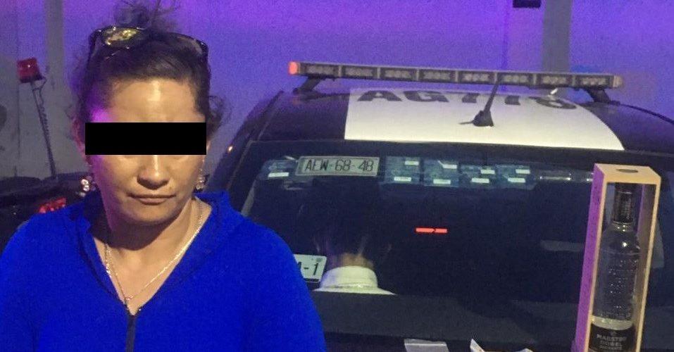 Por robo, mujer fue detenida en el Centro Comercial Altaria