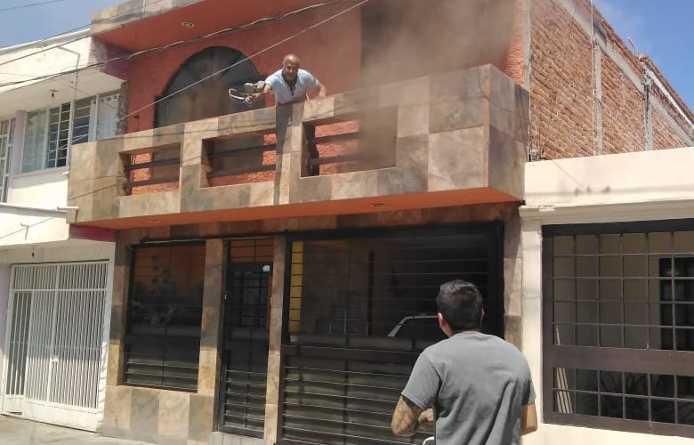 Incendio provoca daños en vivienda del Morelos I
