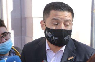 Molesta a diputado de Morena que gobierno de Aguascalientes realice obras en pandemia