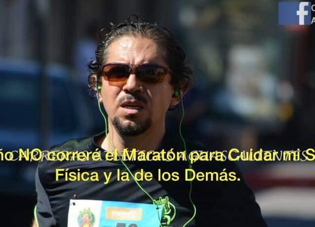 Médicos apelan a la conciencia para no acudir al Maratón Aguascalientes