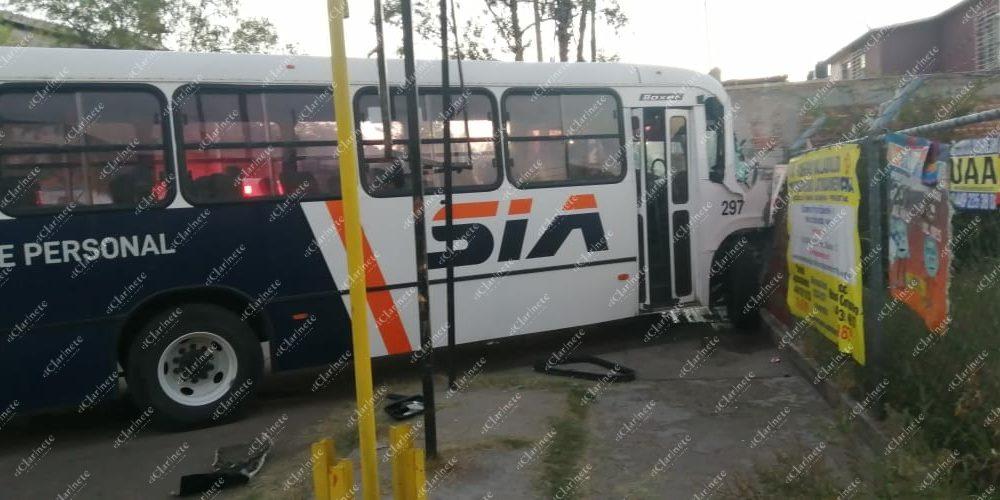 Trenazo deja 2 heridos en Aguascalientes