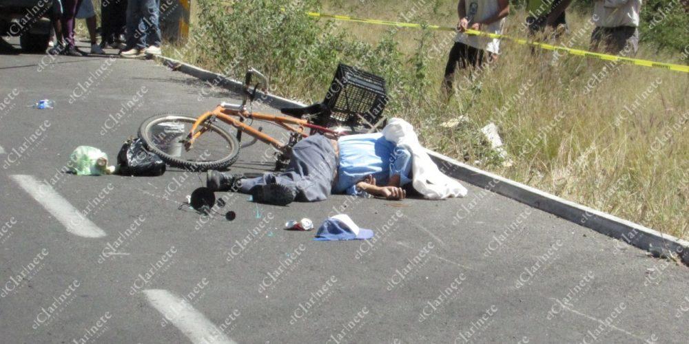 Se cayó de su bicicleta y murió frente a Norias de Paso Hondo