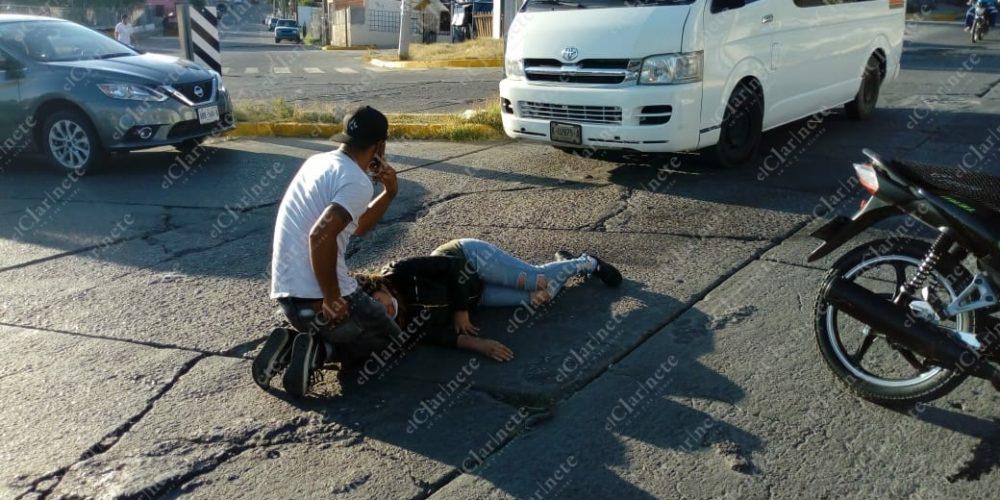 Choque desigual dejó 2 heridos en Municipio Libre