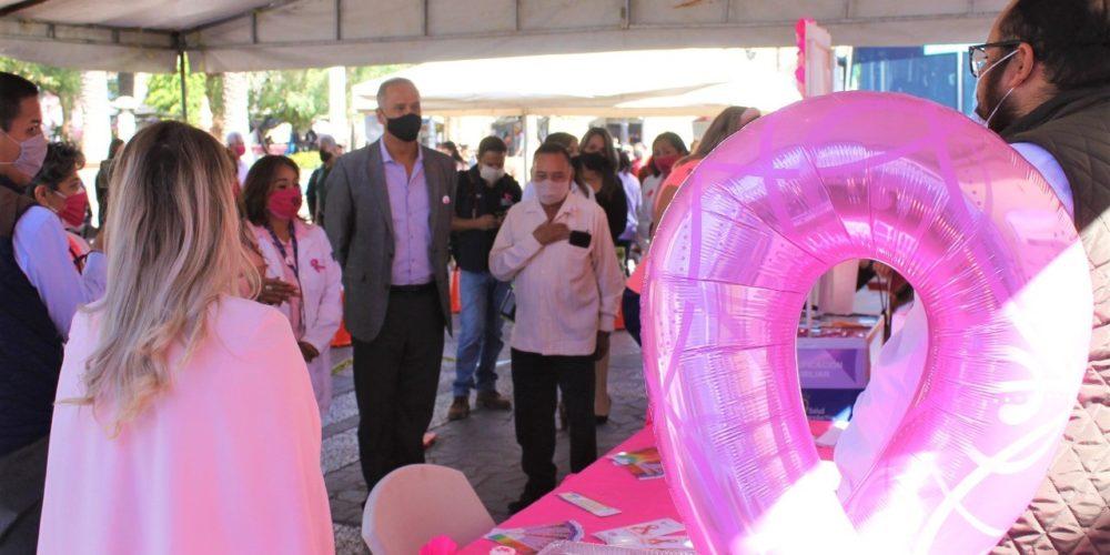 JM realiza con éxito Feria de la Salud