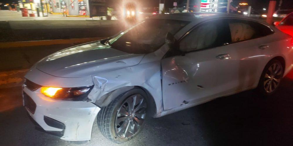 Dos lesionados en accidente de tránsito en Trojes de Alonso
