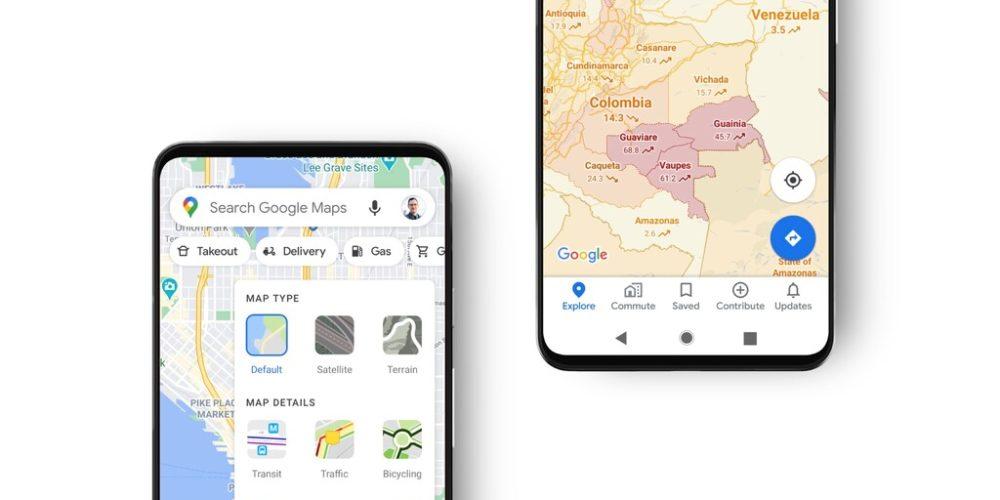 Google Maps mostrará contagios en zonas determinadas