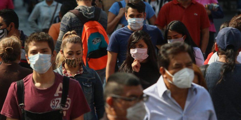 Se rebasan las 97 mil muertes por Covid en México