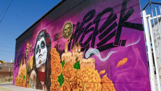 Se realiza encuentro de arte urbano para jóvenes en el municipio de Aguascalientes
