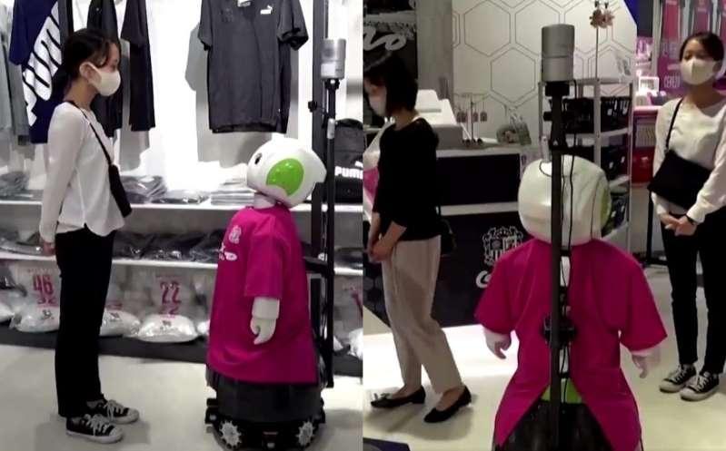 Crean robot que pide por favor usar cubrebocas y respetar sana distancia