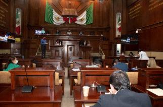 Covid copa al Congreso de Aguascalientes