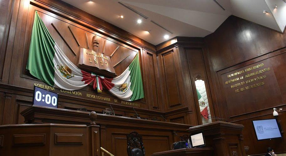 Avala Congreso de Aguascalientes  sesiones virtuales, pero con excepciones