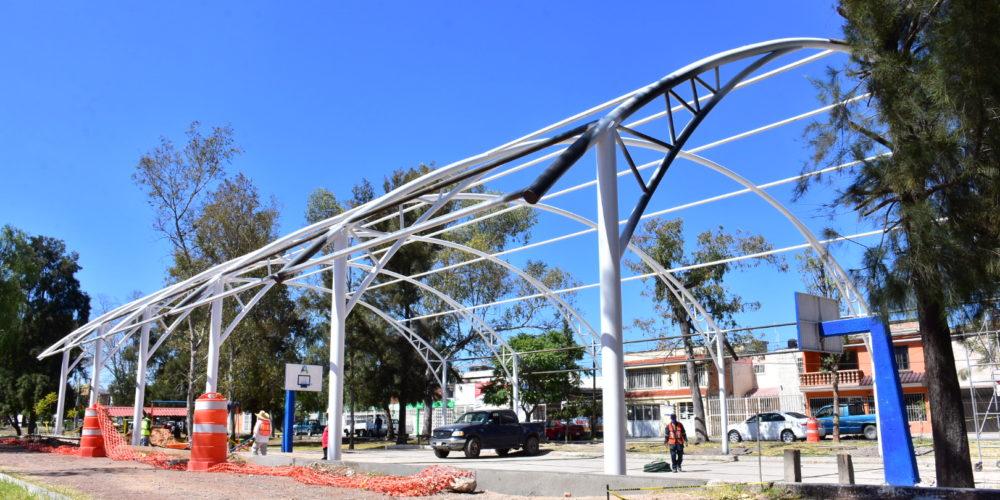 Municipio de Aguascalientes destina más de 24 mdp para la construcción de velarias