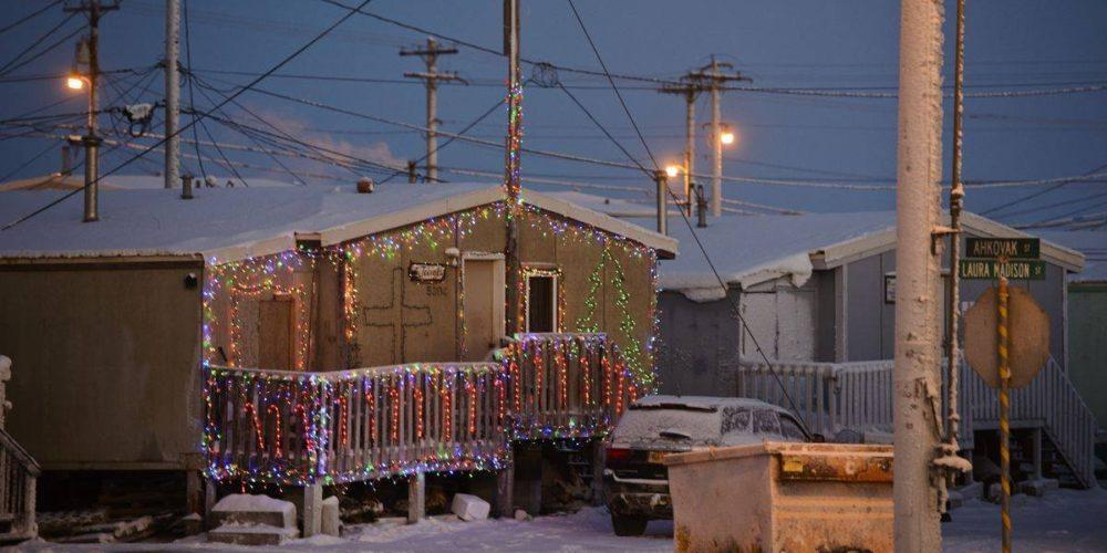 """Comienza la """"noche polar"""" en Alaska. El sol saldrá hasta el 2021"""