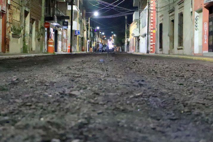 Inician obras de rehabilitación en la calle Nieto