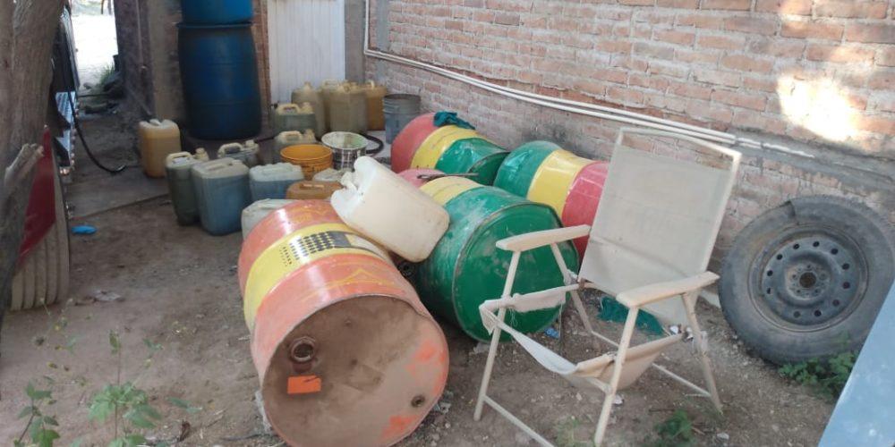 Aseguran casi 150 mil litros de combustible en Aguascalientes; podría ser huachicol