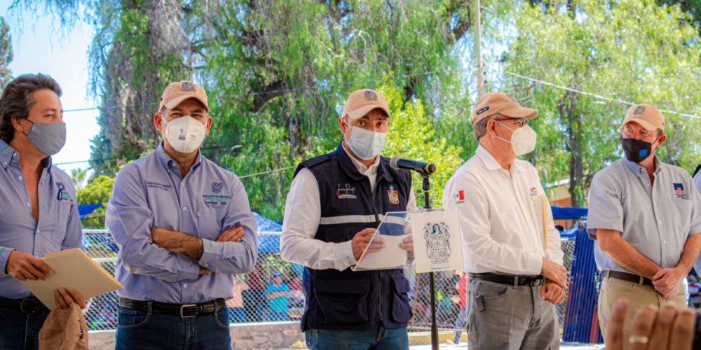 Arrancan la perforación de nuevo pozo en Rincón de Romos