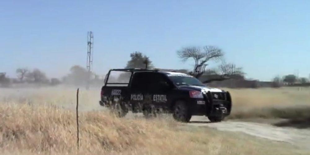 Detienen a sujeto con un rifle y cartuchos en Aguascalientes
