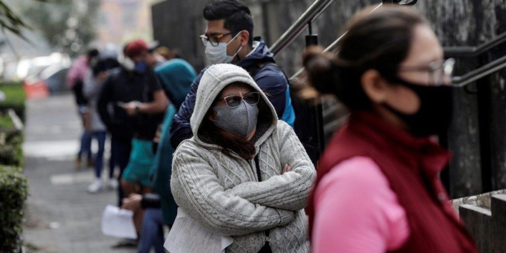 México acumula 972,785 casos de contagios por coronavirus