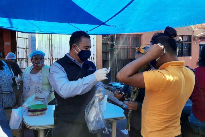Municipio refuerza medidas sanitarias en tianguis y mercados para prevenir brotes de Covid