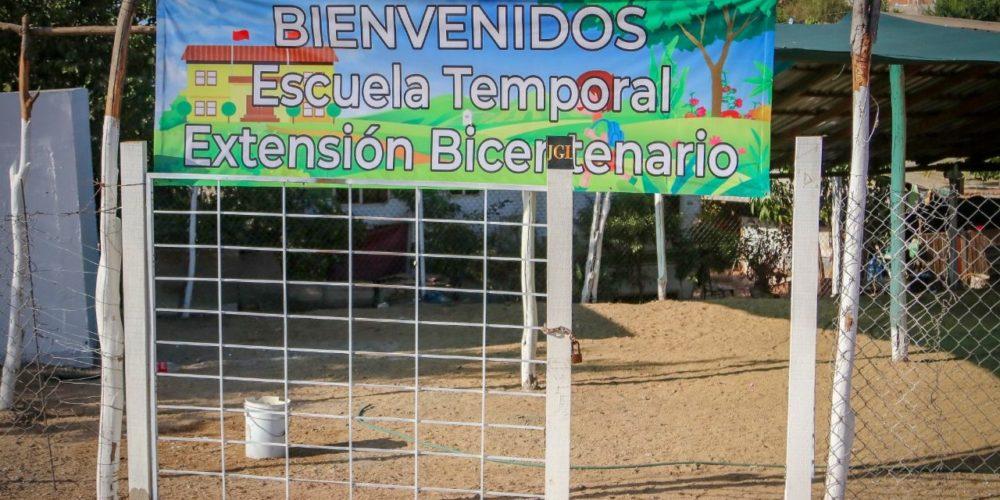 """Hijos de """"El Chapo"""" construyen escuela en Culiacán"""