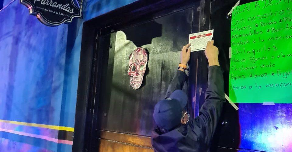 Clausuran bar ligado a diputada federal panista en Aguascalientes