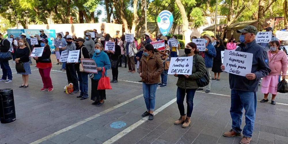 Le exigen apoyos a Orozco, pero se equivocan de palacio