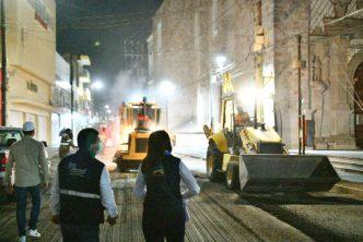 Municipio arranca obras de rehabilitación en el centro de la ciudad