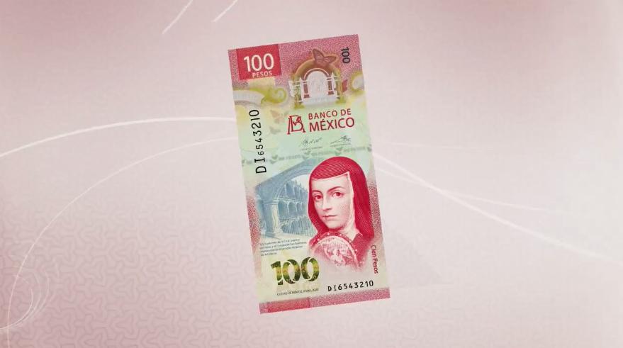 Así es el nuevo billete de cien pesos