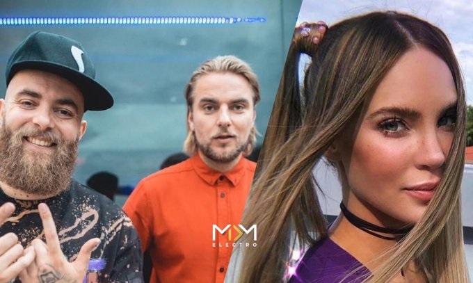 """Belinda se convierte en  """"Una Mamacita"""" en su colaboración con ShowTek y Nacho"""