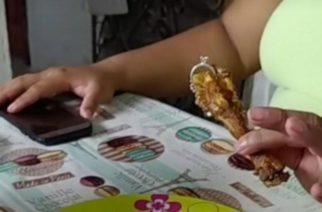 Hombre pide matrimonio y pone el anillo en una pata de pollo