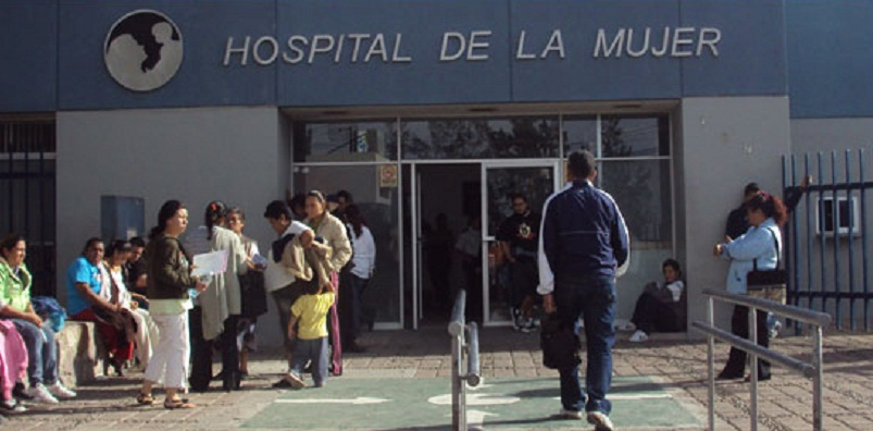 Denuncian por negligencia a a personal médico que dañó a bebé en el hospital de La Mujer