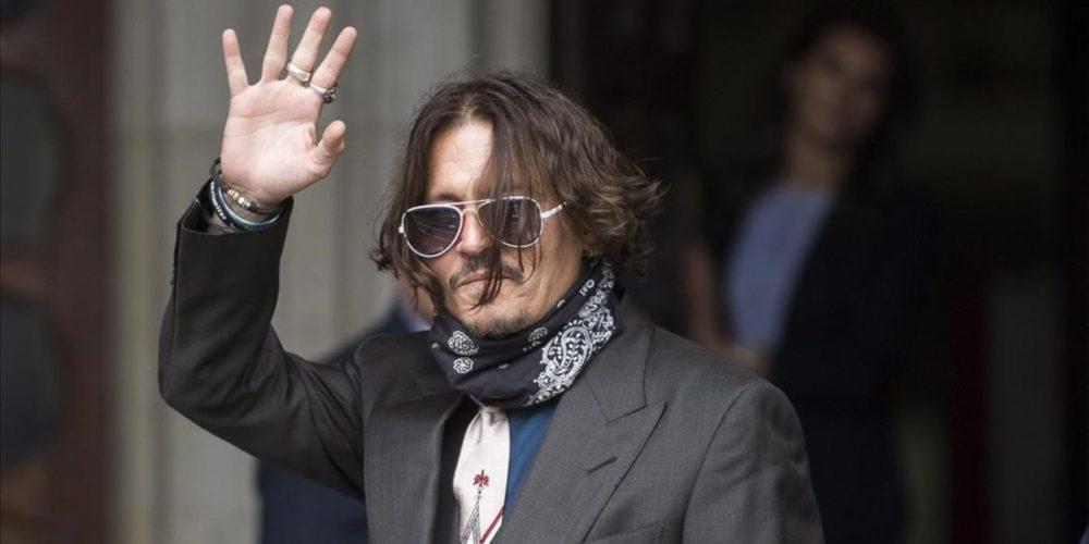 Johnny Depp pierde demanda contra diario británico por difamación