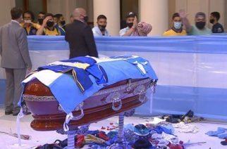 Aseguran que Maradona murió pobre