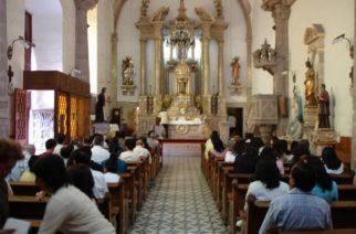 Candidatos no deben aprovecharse de la gente que acude a misa en Aguascalientes