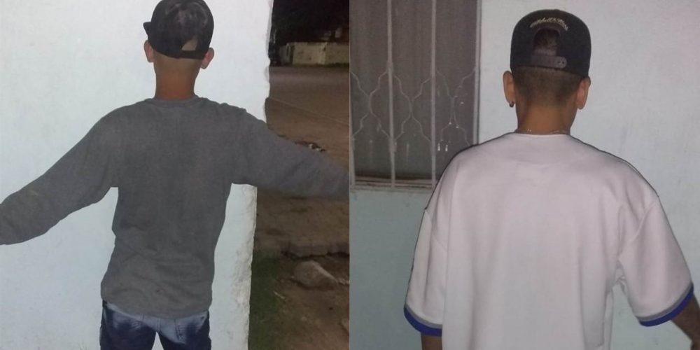 Por rateros detienen a Mario y Jesús en Pilar Blanco
