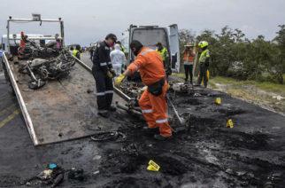 Grave única sobreviviente de explosión de pipa en carretera Guadalajara-Nayarit