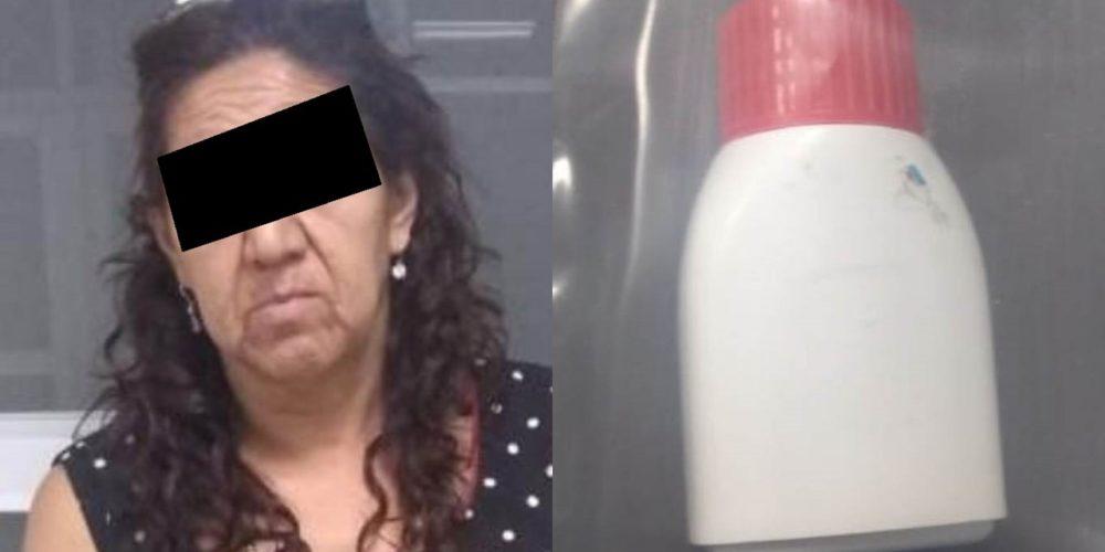 Detienen de nueva cuenta a Doña Miriam por vender cocaína en San Pancho